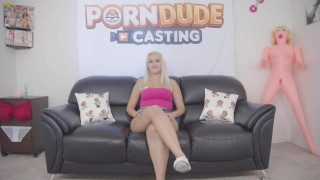The horniest babe ever Indica Monroe gets her pussy wrecked on the casting couch